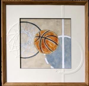 Reproduction d'art basket