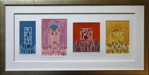 Multiple aquarelles